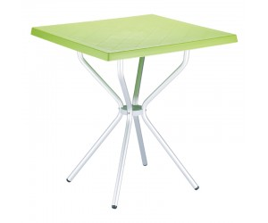 Τραπέζι Sortie light green 70x70x72
